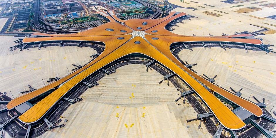 Des avions à l'aéroport de Pékin-Capitale le 11 mars 2019 afp.com - GREG BAKER