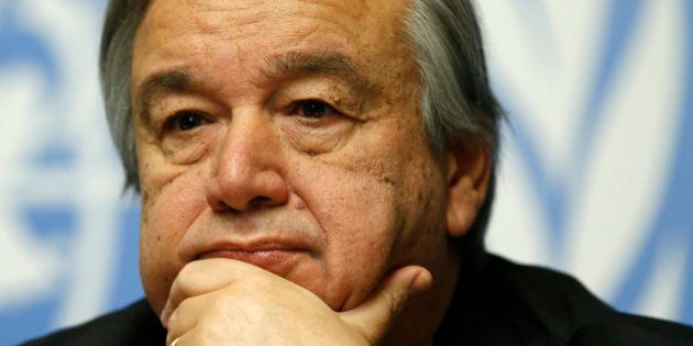 Le Secrétaire général des Nations Unies, António Guterres. Photo: ONU/Mark Garten. (archive)
