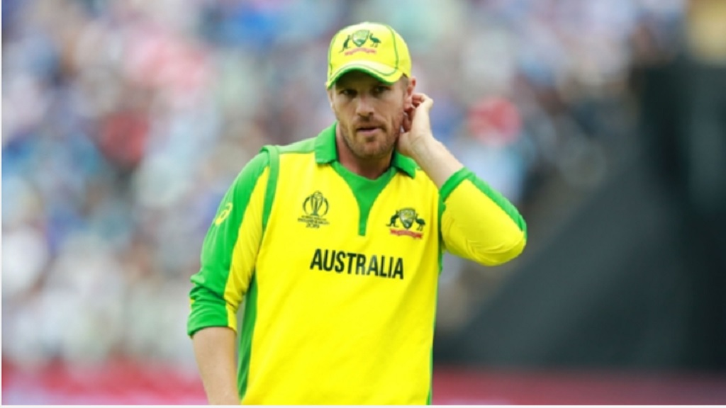 Australia captain Aaron Finch.