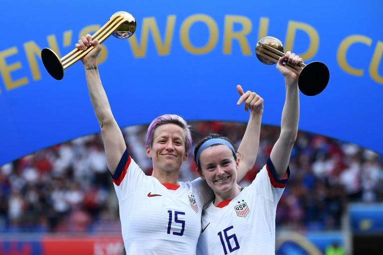 Les Américaines championnes du monde pour la 4e fois après la victoire sur les Néerlandaises 2-0 à Lyon le 7 juillet 2019