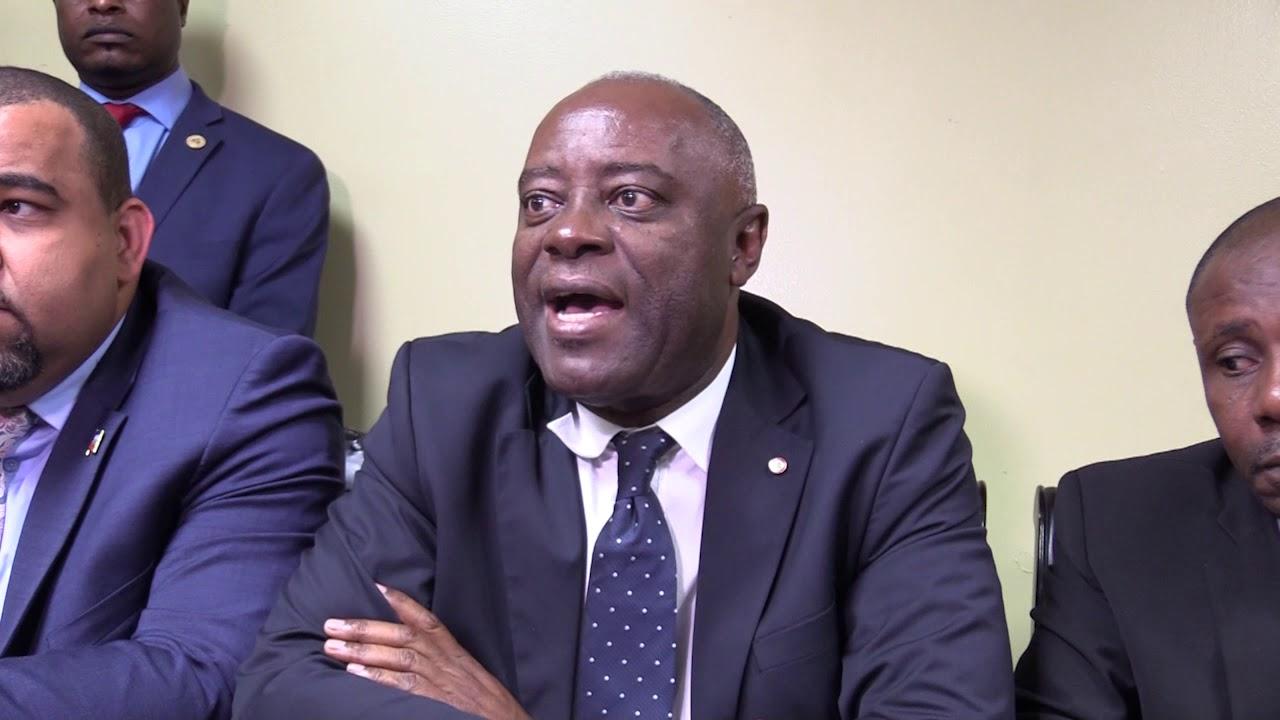 Sorel Jacinthe, sénateur de la République / Photo: Loop Haiti