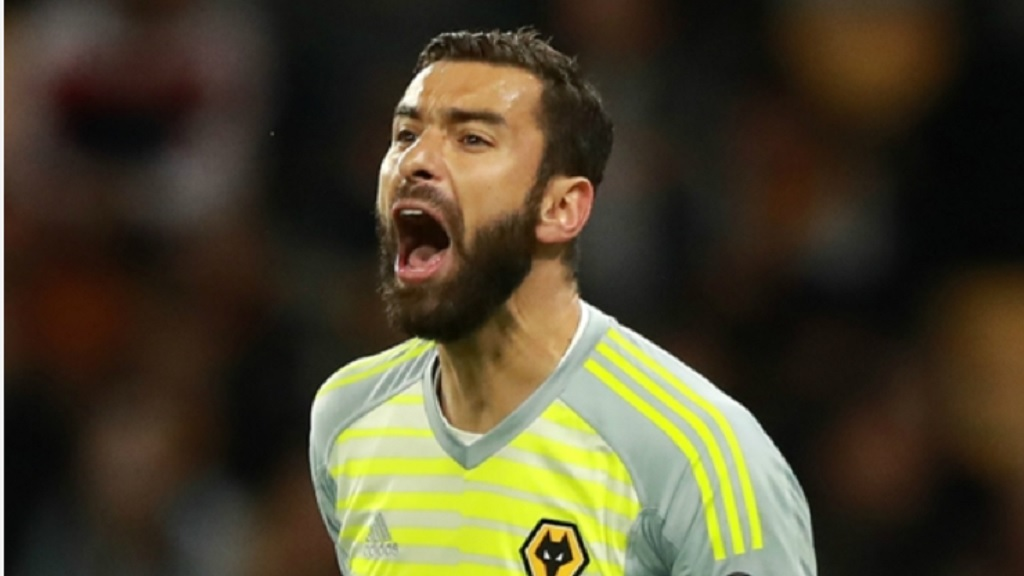 Wolves goalkeeper Rui Patricio.