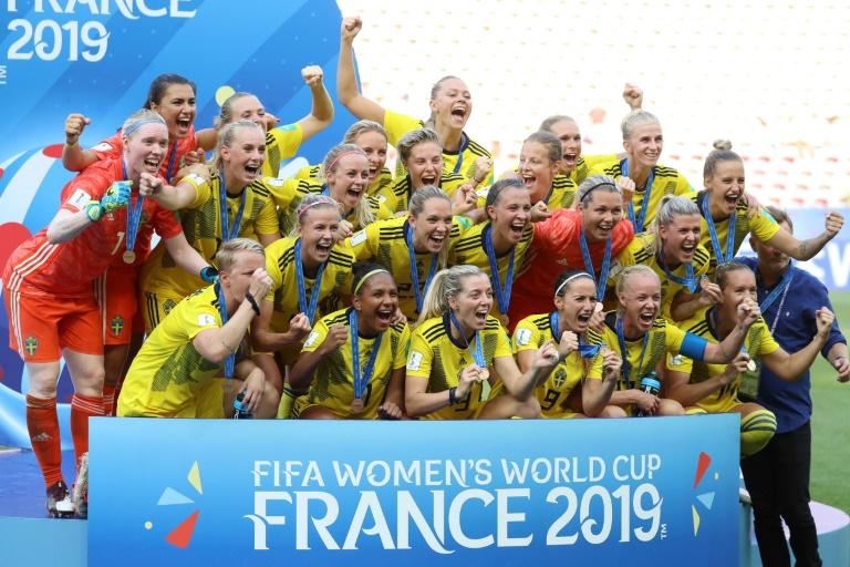 Les Suédoises prennent la 3e place du Mondial en battant les Anglais le 6 juillet à Lyon lors du Mondial