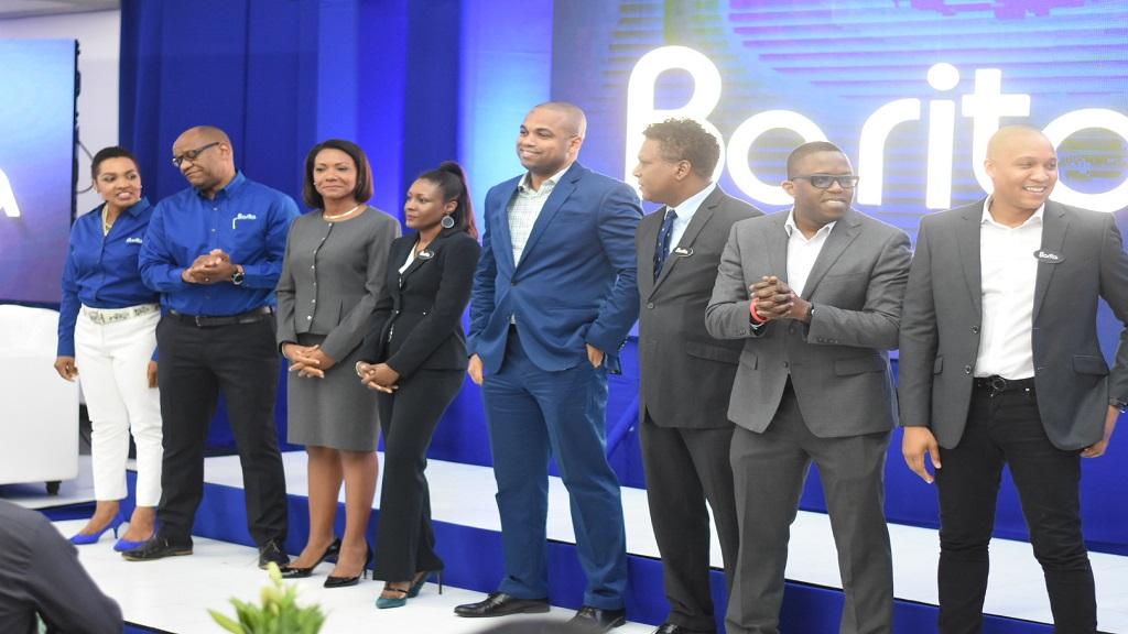 Barita's executive team at a corporate event on Tuesday. (Photo: Marlon Reid)