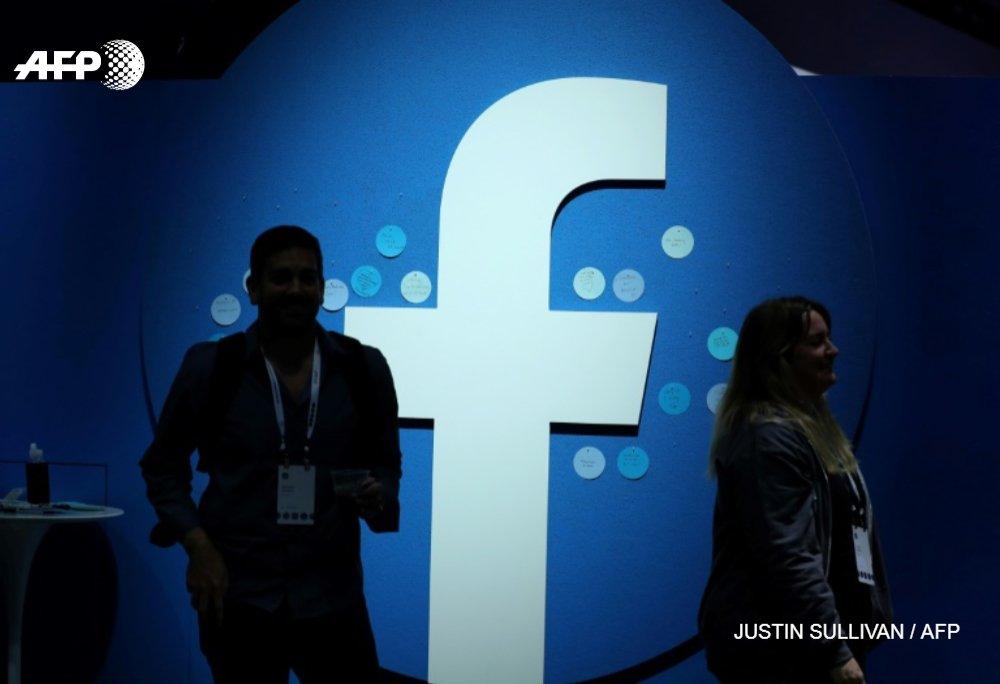 """""""Il est impératif que nous minimisions les contenus sensationnels ou trompeurs"""", a écrit Facebook GETTY/AFP/Archives"""