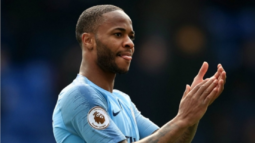 Manchester City forward Raheem Sterling.