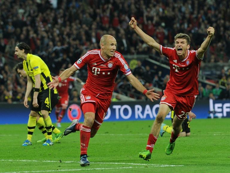 Vainqueur de la Ligue des champions avec le Bayern Munich en 2013 et finaliste de la Coupe du monde avec les Pays-Bas en 2010, Arjen Robben (ici le 4 mai 2019) raccroche les crampons.