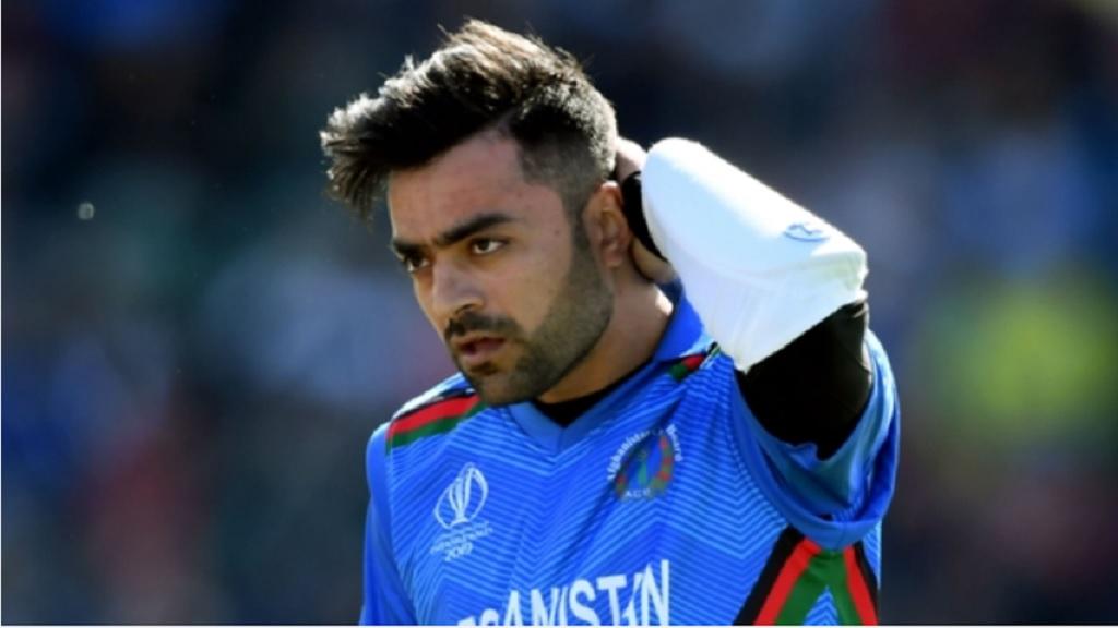 Afghanistan spinner Rashid Khan.