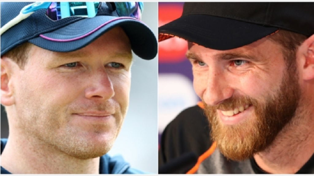Eoin Morgan and Kane Williamson.