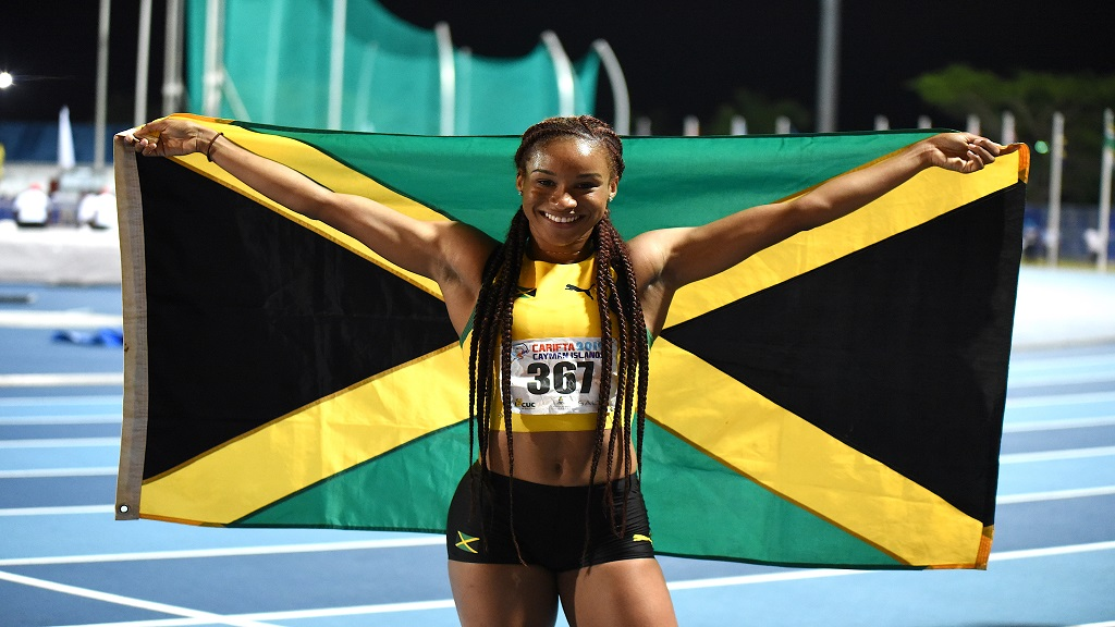Seventeen-year-old sprint sensation Briana Williams.