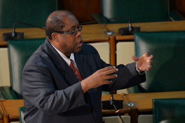 "Opposition Senator Lambert Brown, who railed against the ""super, super Ministry"" of Economic Growth and Job Creation."