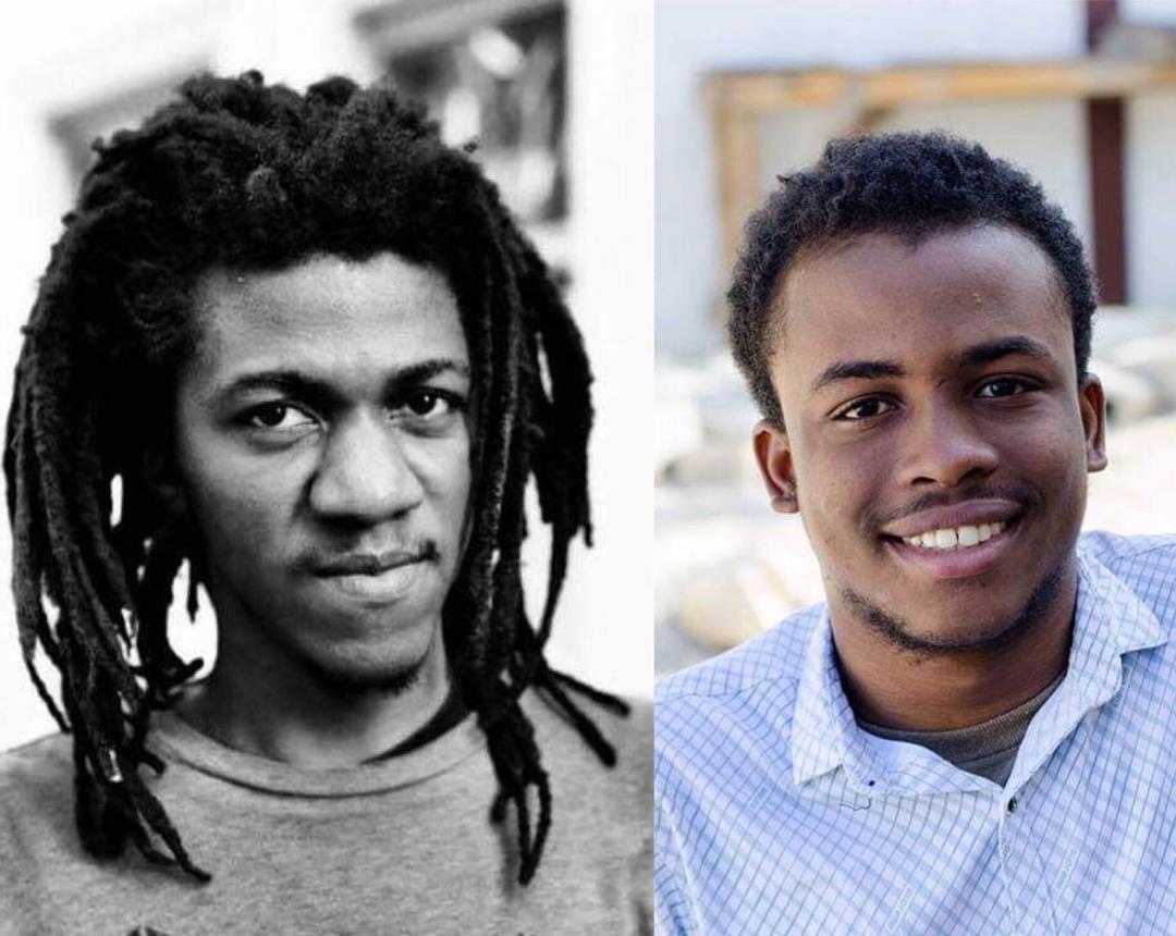 Les jeunes auteurs haïtiens, Jean Damérique et Ducarmel Alcius, parmi les 13 présélectionnés pour le Prix rfi Théatre 2019./Photo: Facebook