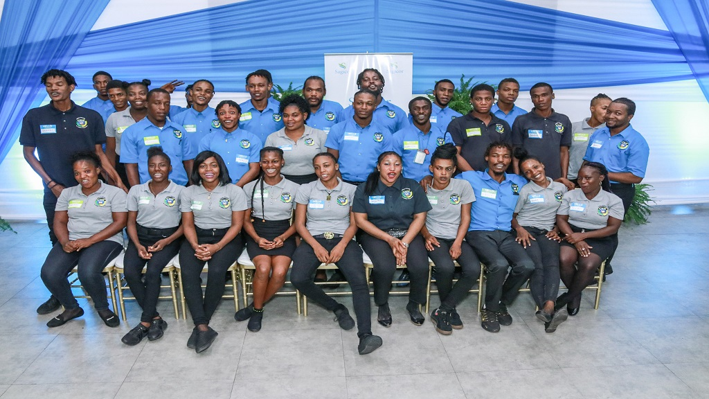The youth were offered words of encouragement and inspiration from Sagicor executives and team members.