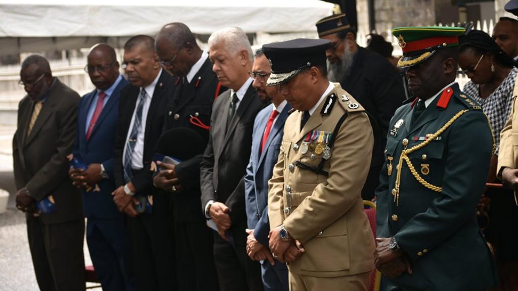Photo via Facebook, The Trinidad and Tobago Police Service (TTPS).