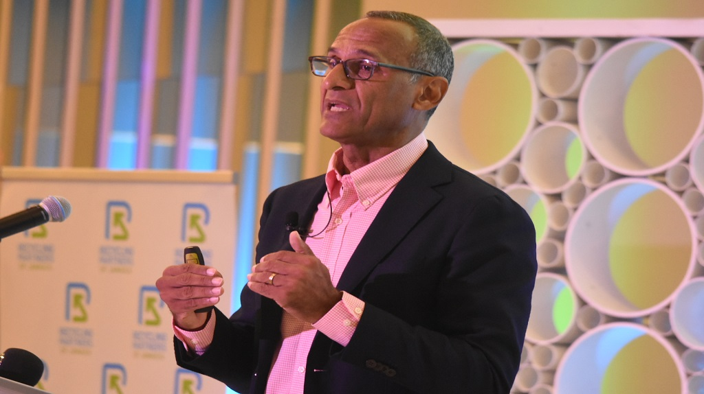 Executive Chairman of the RPJ, Damien King, said the move was designed to increase the number of plastic bottles removed from the environment and foster greater public awareness to the dangers of plastic on public and environmental health. (Photo: Marlon Reid)