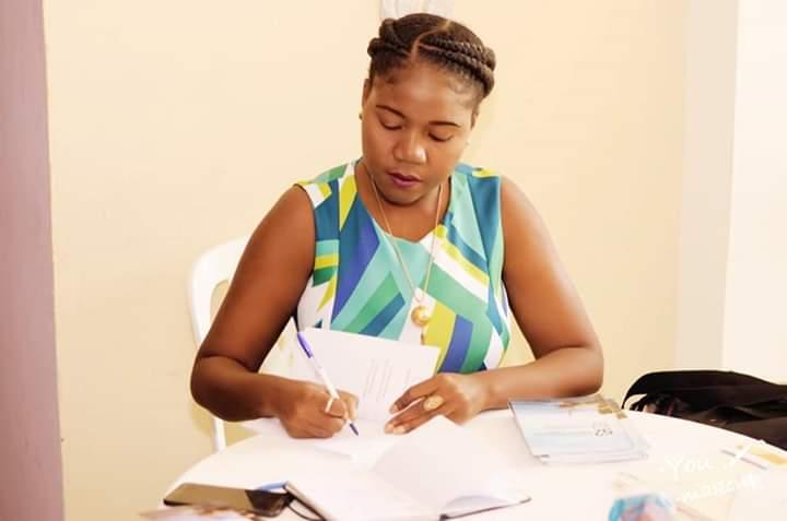 Natacha Daciné, Secrétaire Générale Adjointe aux Affaires Internationales du RDNP