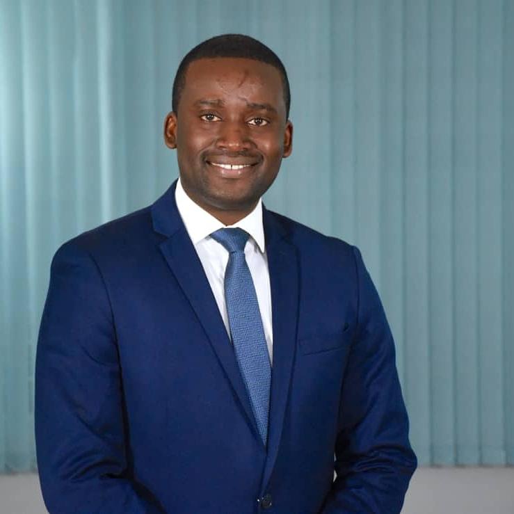 Hans Ludwig Joseph, avocat au barreau de Port-au-Prince et directeur du cabinet ''Expertus Firme d' Avocats''.