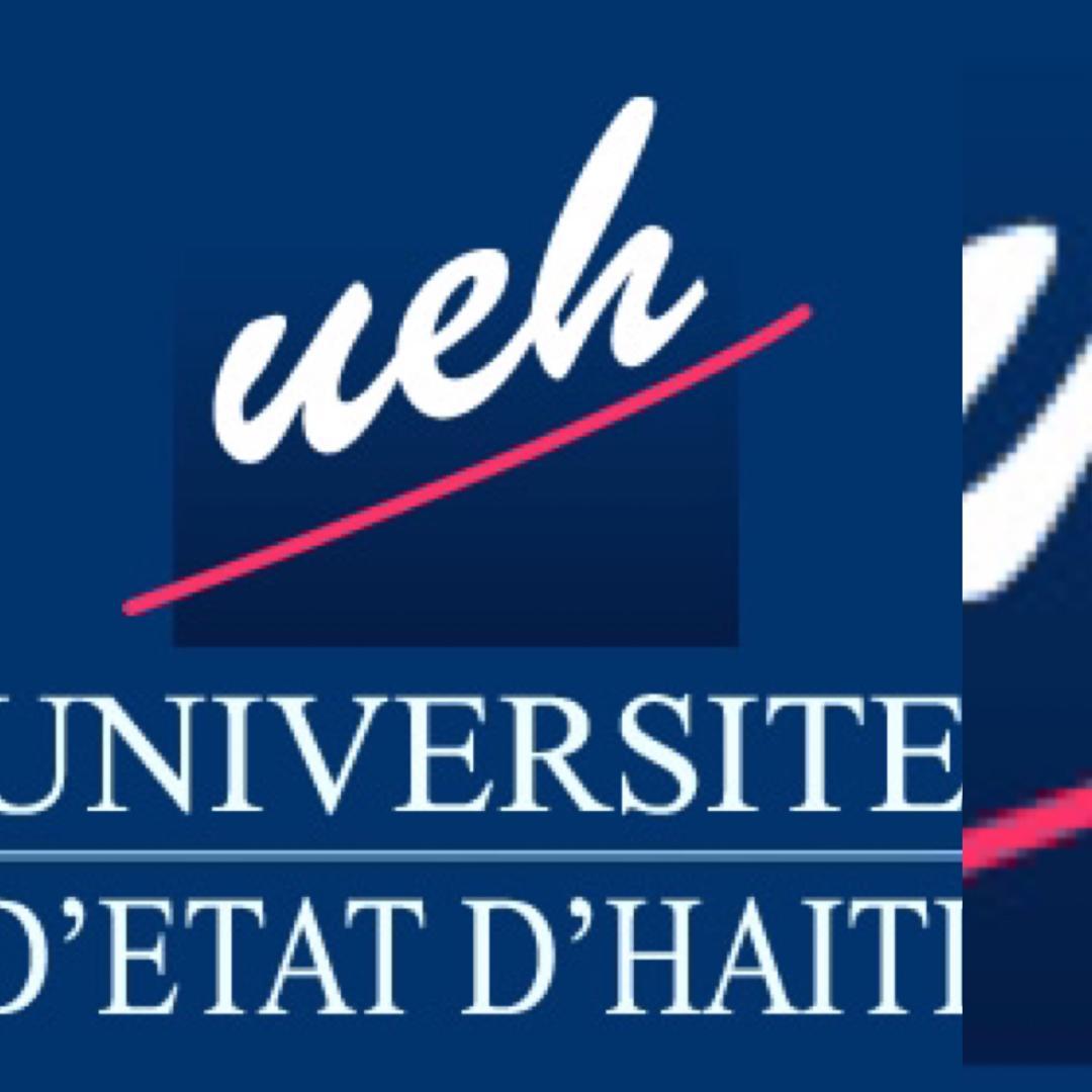 Logo de l'Université d'État d'Haïti (UEH) / Crédit : Site Web de l'UEH