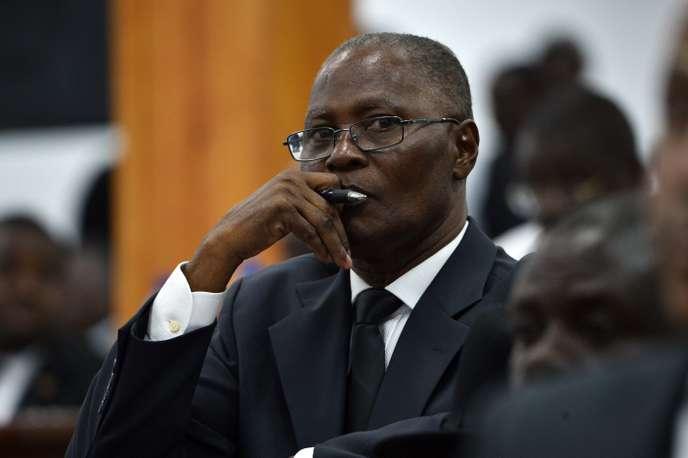 L'ex-président haïtien Jocelerme Privert / AFP