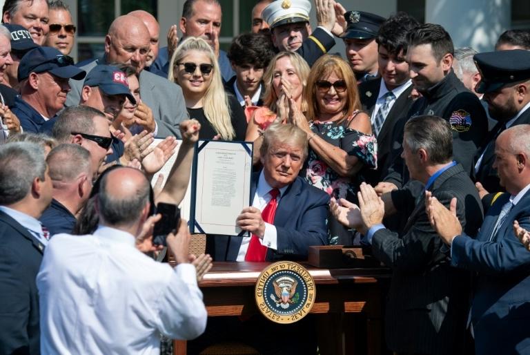 Donald Trump à la Maison Blanche le 29 juillet 2019 AFP