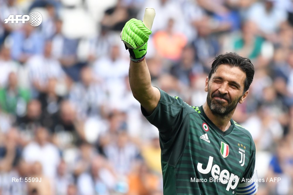 Le gardien italien Gianluigi Buffon
