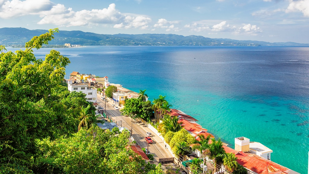 Photo of a section of Montego Bay, St James via Getty Images.
