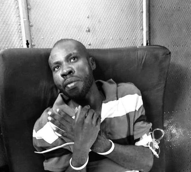 Arnel Joseph, lors de son arrestation le 22 juillet 2019