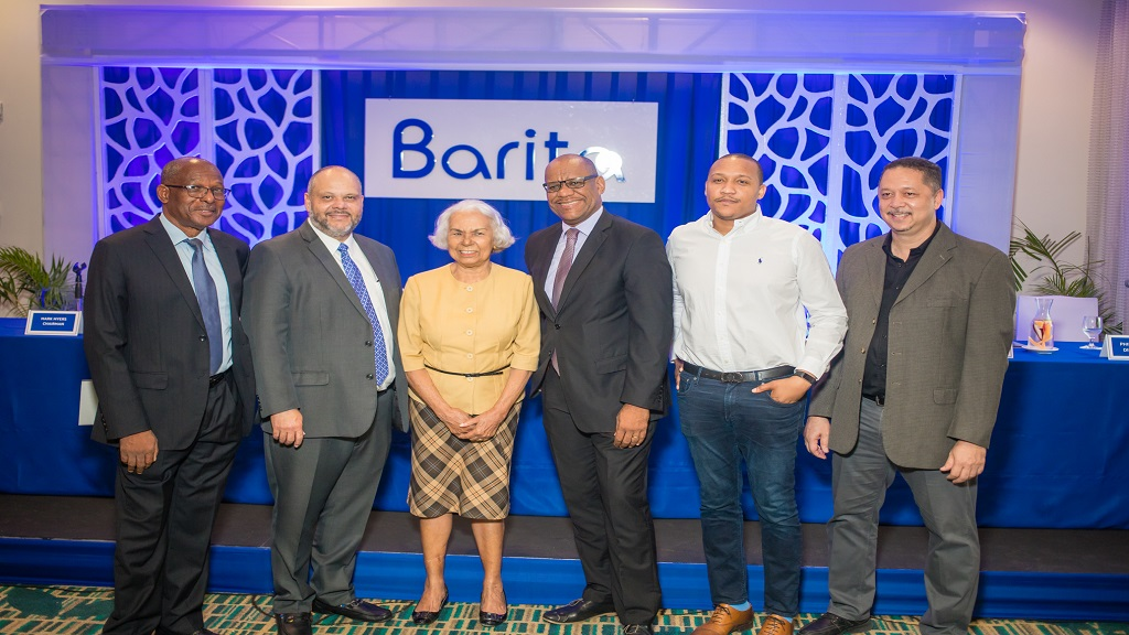 Barita board members from left to right: Carl Domville, director; Mark Myers chairman;