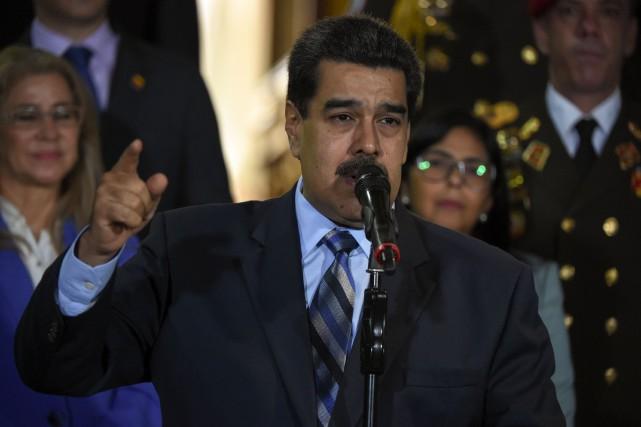 Le président vénézuélien Nicolas Maduro. Photo : AFP