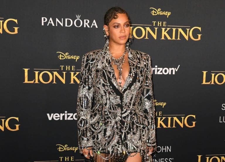 """Beyoncé à la première mondiale du """"Roi Lion"""" le 9 juillet 2019 à Hollywood afp.com - Robyn Beck"""