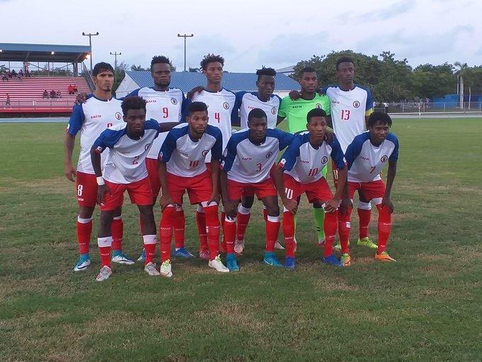 Les Grenadiers des moins de 23 ans. Photo : CONCACAF