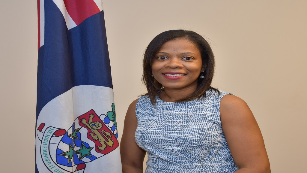 Alethia Lambert is the Ministry of Commerce, Planning and Infrastructure's new Communications and Public Affairs Manager