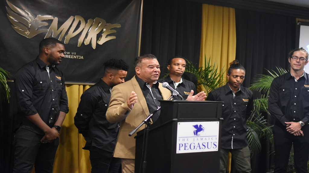 Craig Butler shares plans for Empire Entertainment, which will be operated and managed by his sons, other youth. (Marlon Reid)