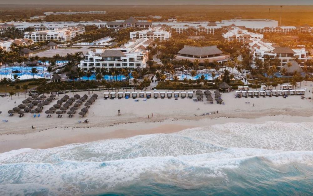 Le complexe hôtelier Hard Rock Hotel situé à Punta Cana, en République Dominicaine.