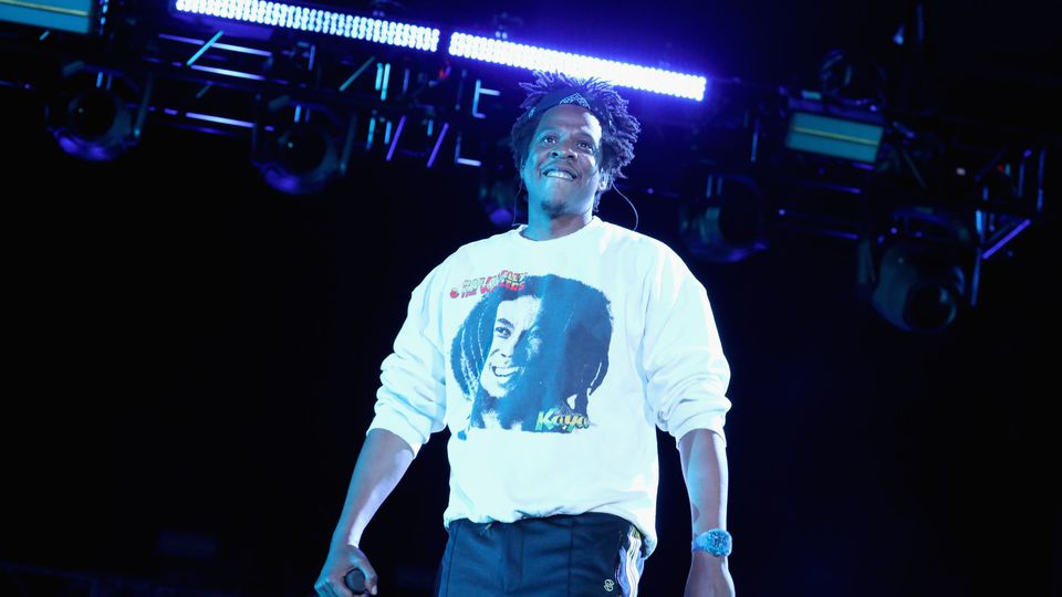 Jay-Z, lors d'un concert à Virginia Beach le 27 avril 2019 afp.com/Brian Ach