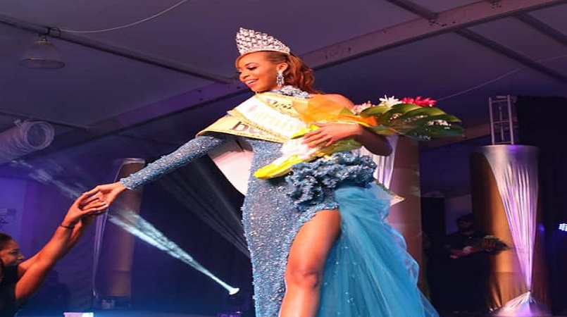 Miss Laborie Credit Union Wenia Verneuil was crowned Saint Lucia's 2019 Carnival Queen.