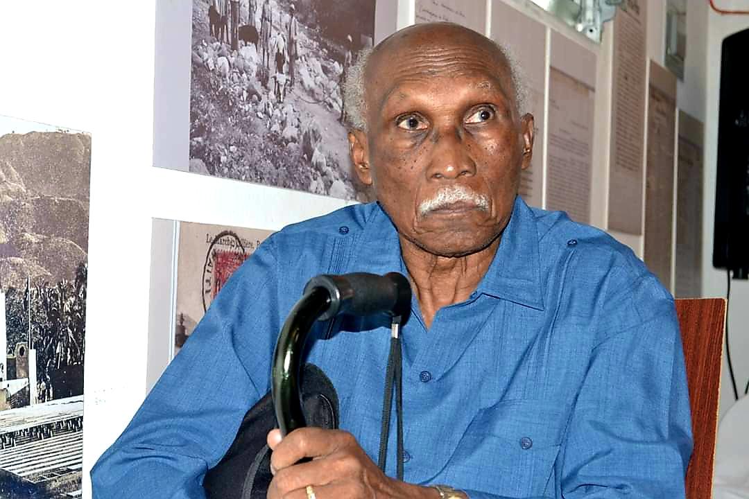 Le professeur Michel Hector/ Crédit Photo: Société haïtienne d'histoire