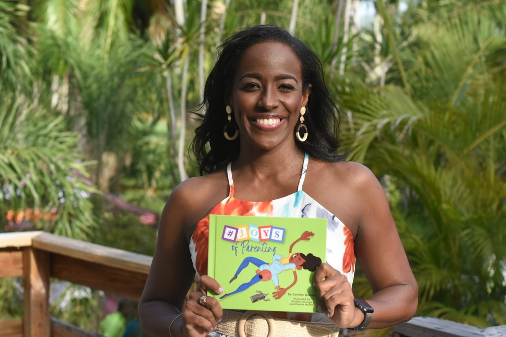 "Broadcaster and publicist Carlette DeLeon launched her debut publication, ""Joys of Parenting"".  (Photo: Maron Reid)"