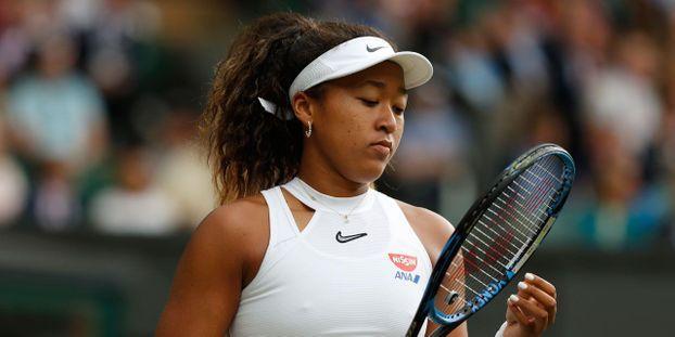 Naomi Osaka a été défaite en deux sets par la Kazakhe Yulia Putintseva. © Adrian DENNIS / AFP