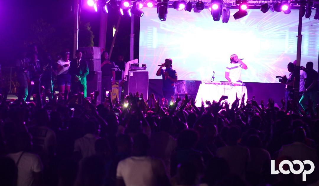 Youssoupha sur scène au Parc Historique de la Canne à sucre / Luckenson Jean