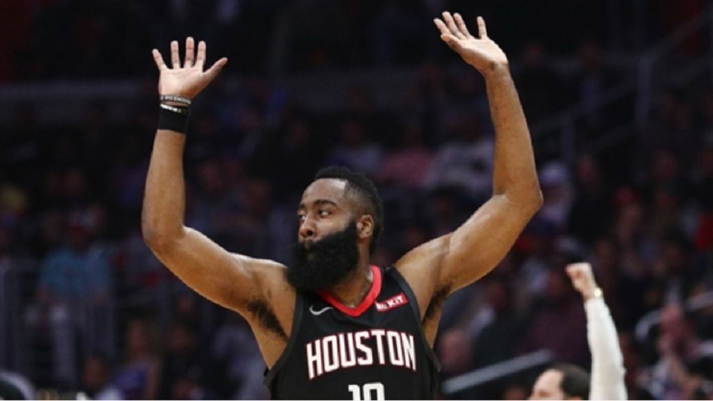 Houston Rockets point guard James Harden.