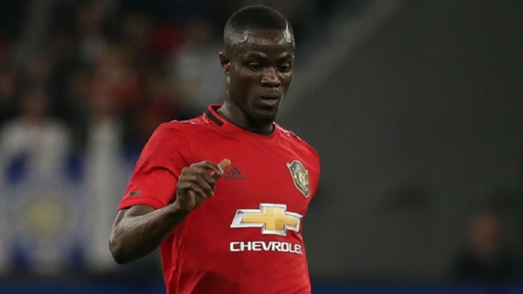 Manchester United centre-back Eric Bailly.