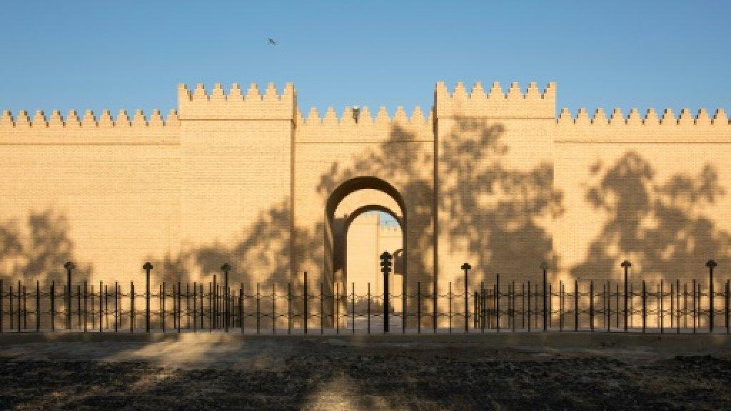 Le site archéologique de Babylone, au sud de Bagdad, en Irak, le 29 juin 2019 AFP/Archives