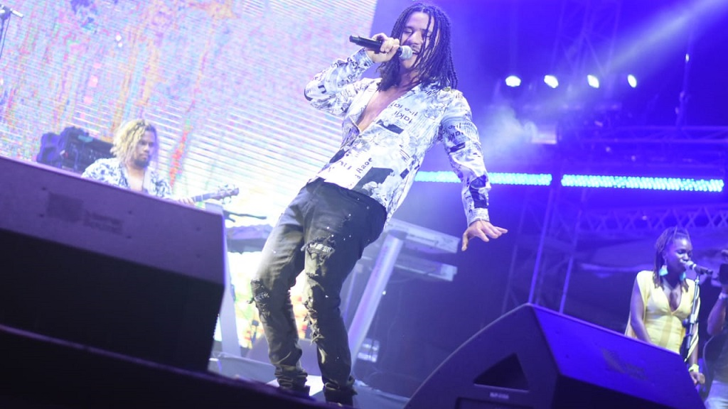 Tessellated performs at Reggae Sumfest Festival Night Two on Saturday. (PHOTOS: Marlon Reid)