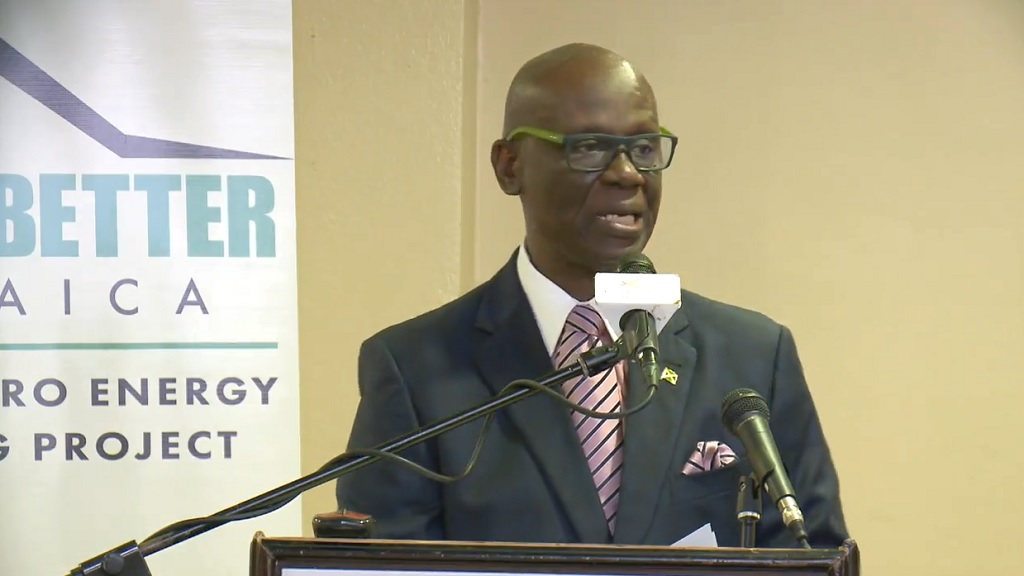 Minister of Local Government Desmond McKenzie