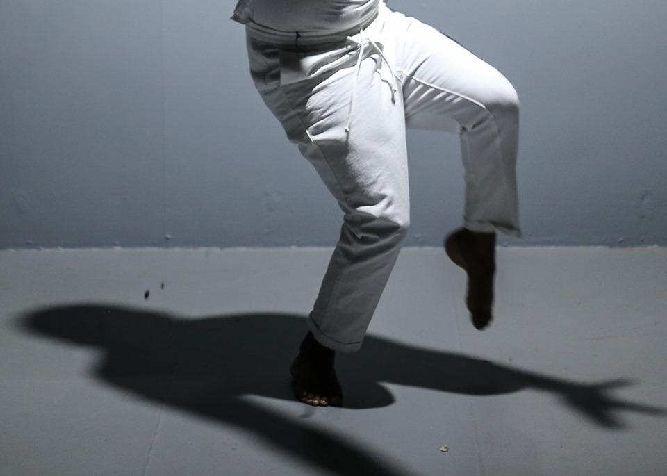 Le danseur et chorégraphe Jean-Aurel Maurice au festival Haïti Cultural Exchange cette année/ Photo : Josué Azor