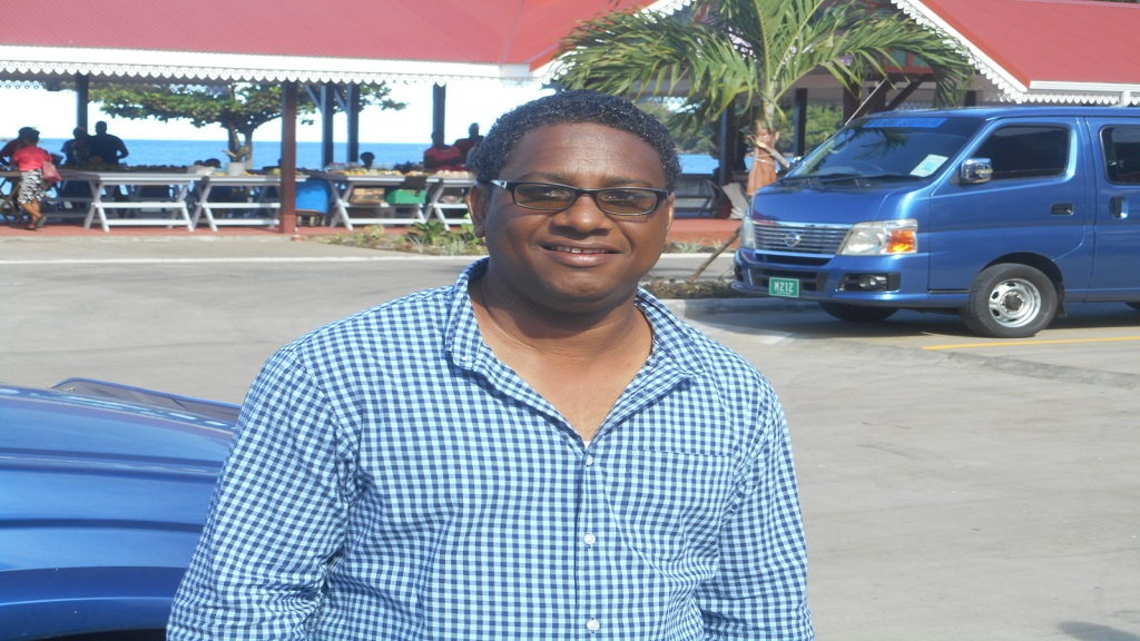 Mayor of Soufriere, Pius Gangardine