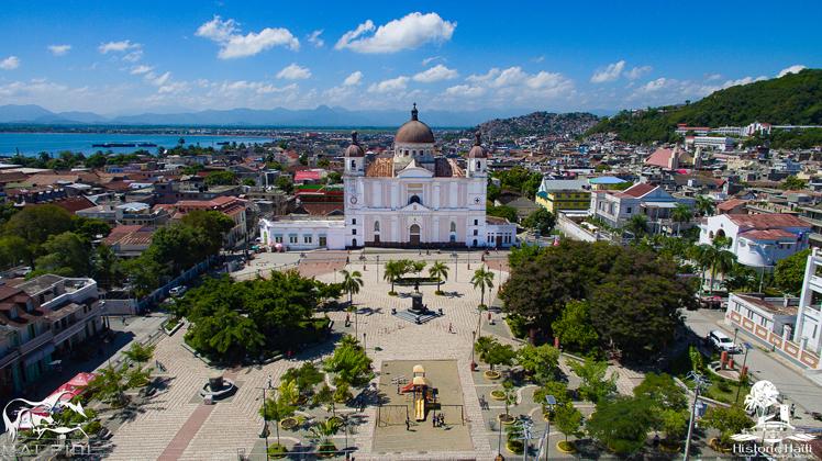 Vue aérienne du Cap-Haïtien / Photo: Historic Haiti