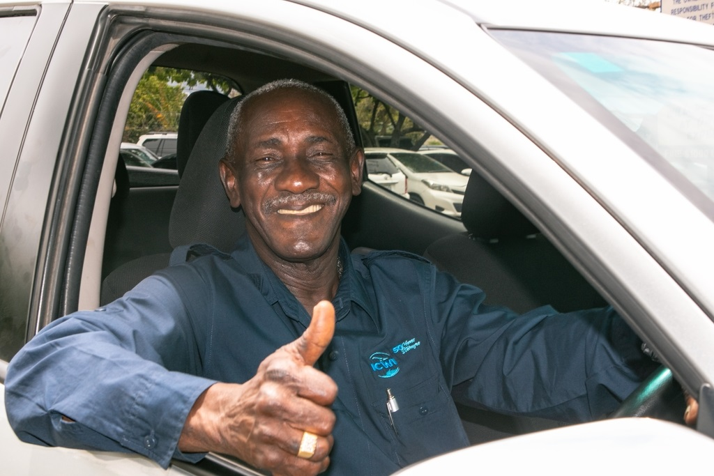 This year marks 40 years Chopi Brown became a driver with ICWI.