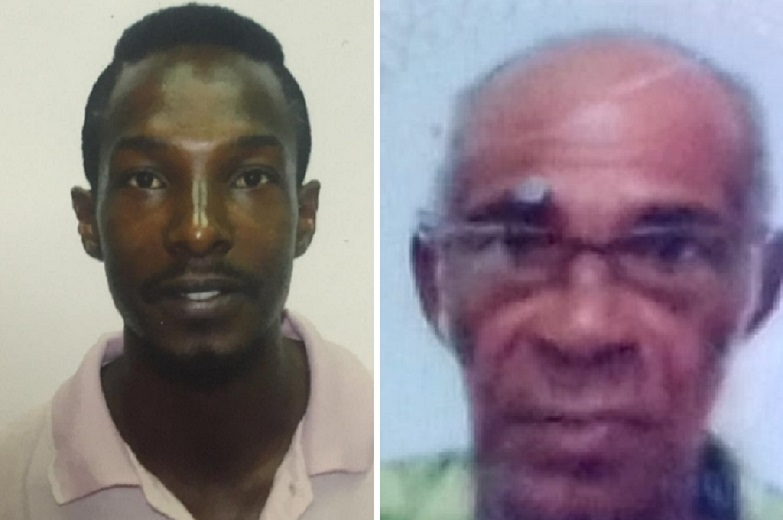 Missing men: Joseph Best (left), Felix Sorrios (right)